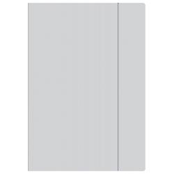 Teczka kartonowa z gumką A4 - szara