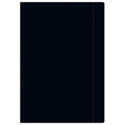 Teczka z gumką Interdruk A4+ - czarna