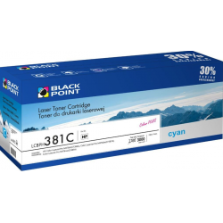 Toner Black Point HP CF381A - cyan 3k