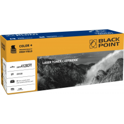 Toner Black Point HP CF412X - yellow - 5k
