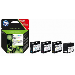 Atrament HP C2P42AE (932XL/933XL) - kolorowy - 22,5 ml / 3 x 8,5 ml