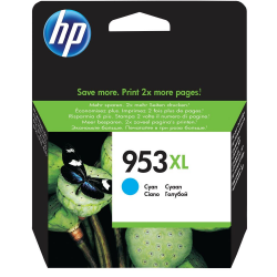 Atrament HP F6U16AE (953XL) - cyan - 20 ml
