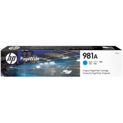 Atrament HP J3M68A (981) - cyan - 70 ml