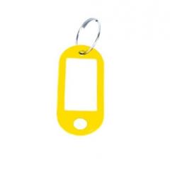 Zawieszka do kluczy - żółta