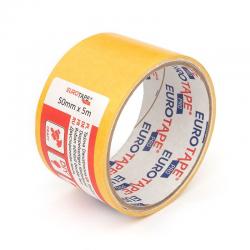 Taśma klejąca 50mm x 5m EuroTape - żółta