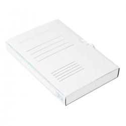 Teczka wiązana Bigo BOX - A4 - 400g - 40mm - biała