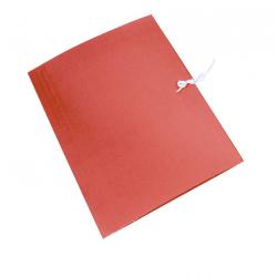 Teczka wiązana Emerson - A4 - 300g - czerwona