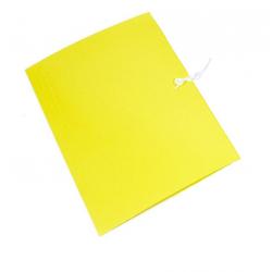 Teczka wiązana Emerson - A4 - 300g - żółta