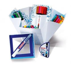 Pisaki artystyczne Edding Colour Happy Big Box - 70 elementów