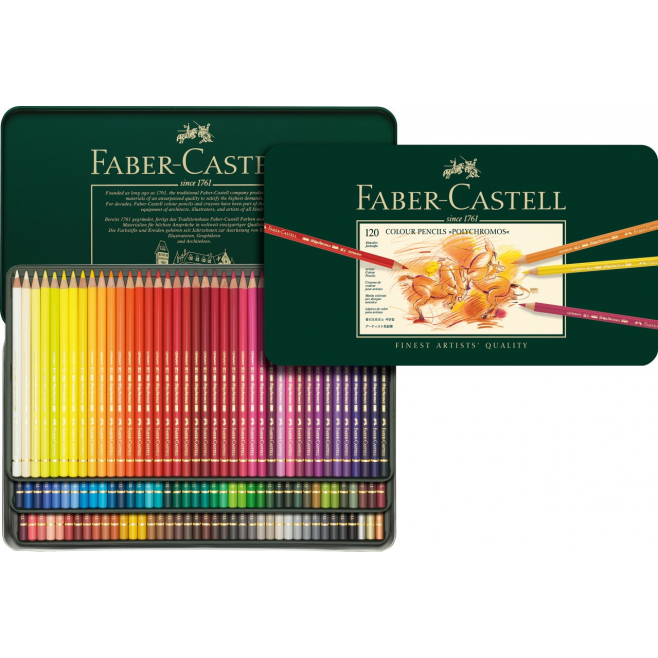 Kredki Faber-Castell POLYCHROMOS - 120 kolorów