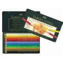Kredki ołówkowe Faber-Castell Polychromos - 12 kolorów