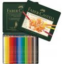 Kredki ołówkowe Faber-Castell Polychromos - 24 kolory