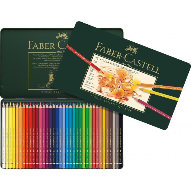 Kredki Faber-Castell POLYCHROMOS - 36 kolorów
