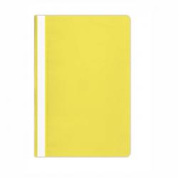 Skoroszyt PP miękki Selvie- żółty