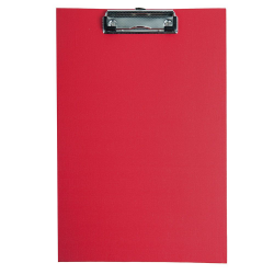 Deska z klipsem A4 - d.rect - czerwona
