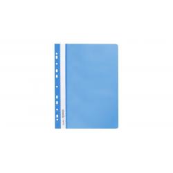 Skoroszyt zawieszany PP miękki Selvie - niebieski