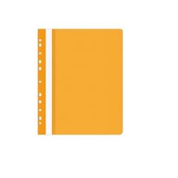Skoroszyt zawieszany PP miękki Selvie - pomarańczowy