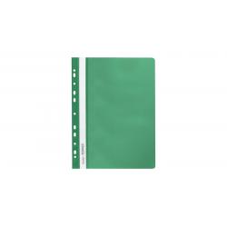 Skoroszyt zawieszany PP miękki Selvie -zielony
