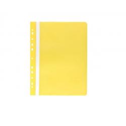 Skoroszyt zawieszany PP miękki Selvie -żółty