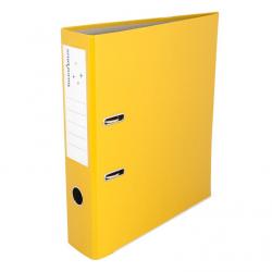 Segregator Biuro Plus A4/75mm - żółty