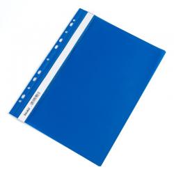 Skoroszyt zawieszany PCV Biurfol- niebieski/jasnoniebieski