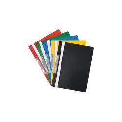 Skoroszyt PVC z metalową zawieszką Biurfol - czarny