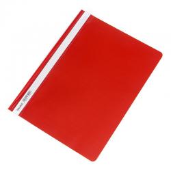 Skoroszyt PCV twardy Biurfol - czerwony