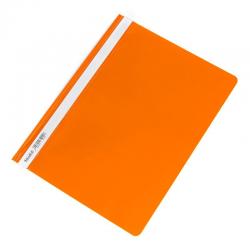 Skoroszyt PCV twardy Biurfol - pomarańczowy