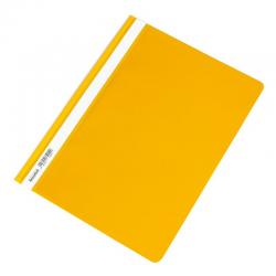 Skoroszyt PCV twardy Biurfol - żółty