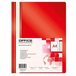 Skoroszyt PP Office Products - czerwony