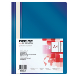 Skoroszyt PP Office Products - granatowy