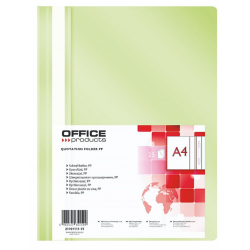 Skoroszyt PP Office Products - jasny zielony