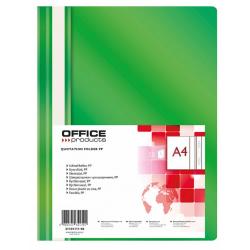 Skoroszyt PP Office Products - zielony