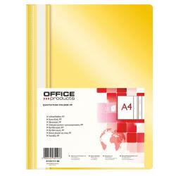 Skoroszyt PP Office Products - żółty