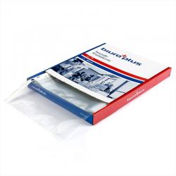 Obwoluta z folii A4 Biuro Plus - krystaliczna 45'' - karton - 100szt.