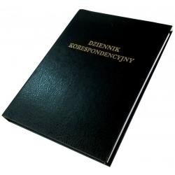 Dziennik korespondencyjny Barbara - 96 kartek - czarny