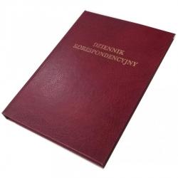 Dziennik korespondencyjny Barbara - 192 kartek - bordo
