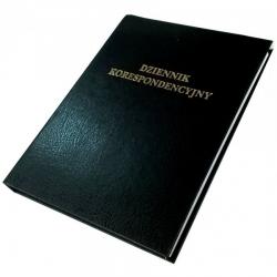 Dziennik korespondencyjny Barbara - 192 kartek - czarny