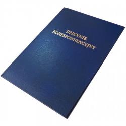 Dziennik korespondencyjny Barbara - 192 kartek - granatowy