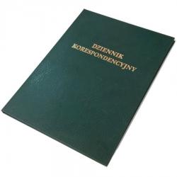 Dziennik korespondencyjny Barbara - 300 kartek - zielony