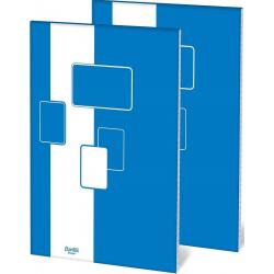 Blok biurowy w kratkę A5 Bantex- 100k