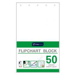 Blok gładki do tablic Flipchart Interdruk- 65x100cm, 50k