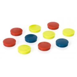 Magnesy 30mm 2x3- mix kolorów, 10szt.