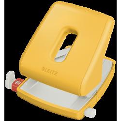 Dziurkacz Leitz Cosy 5004 - żółty