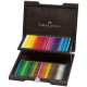 Kredki Faber-Castell POLYCHROMOS - 72 kolory /drewniana kaseta/