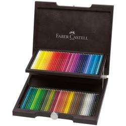 Kredki ołówkowe Faber-Castell Polychromos - 72 kolory/ drewniana kaseta