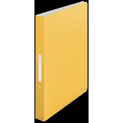 Segregator 2ringowy Leitz Cosy - żółty