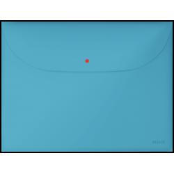 Teczka kopertowa Leitz Cosy z 2 przegródkami - niebieska