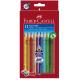 Kredki Jumbo Grip - 12 kolorów + temperówka