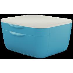 Pojemnik z szufladami Leitz Cosy - niebieski